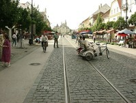 the main street of Kosice